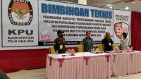 Pilkada Sulteng, KPUD Touna Gelar Bimtek Peningkatan Kapasitas PPK
