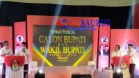 KPU Morut Gelar Debat Perdana Paslon di Tengah Covid-19