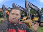 Operator Excavator, Terkesan Jadi Tumbal Praktek Kotor Sang Aktor