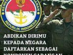 Program Menhan, Bikin Indonesia Bakal Punya 'Pasukan' Cadangan