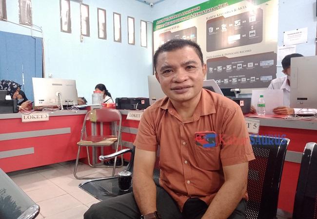 Yamin Noho, Kabid Administrasi Data Kependudukan dan Pencatatan Sipil, Kabupaten Parigi Moutong.