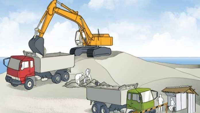 Ilustrasi Aktivitas Pertambangan Galian C