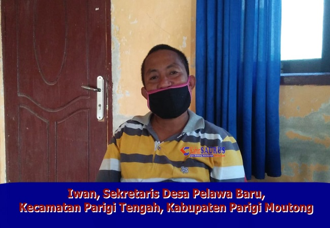 Iwan Sekdes Pelawa Baru Kecamatan Parigi Tengah Kabupaten Parigi Moutong